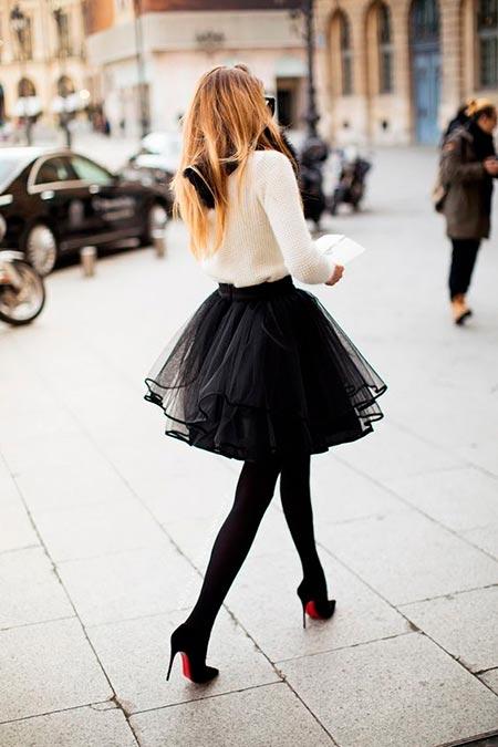 пышная юбка пачка мини фото