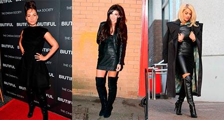 обувь с черным платьем