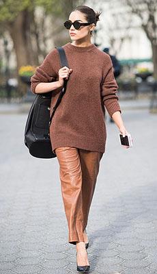 Короткие кожаные штаны фото