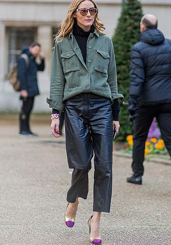 Куртка под кожаные брюки фото