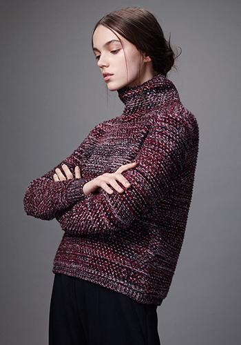 Зимний свитер оверсайз фото