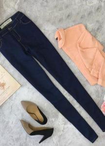Что одеть под джинсы скинни фото