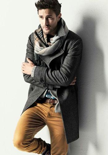 Короткое мужское пальто фото
