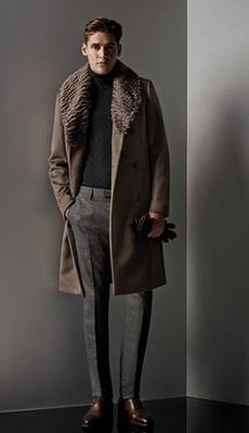Мужское пальто под брюки фото