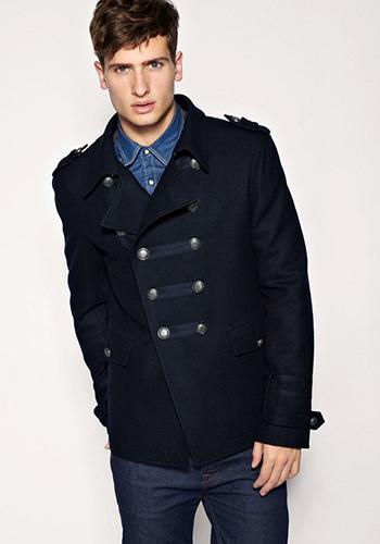 С чем носить мужское пальто фото