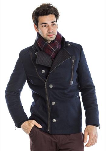 Современное мужское пальто фото