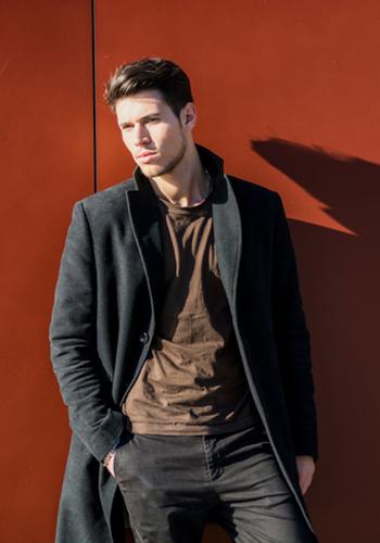Красивое мужское пальто фото
