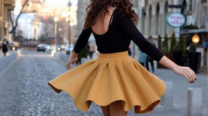 Кому подходит юбка солнце фото
