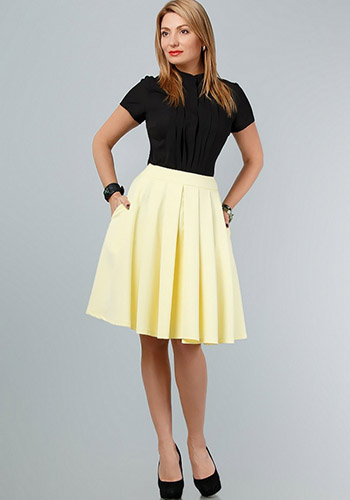 Светлая юбка солнце фото