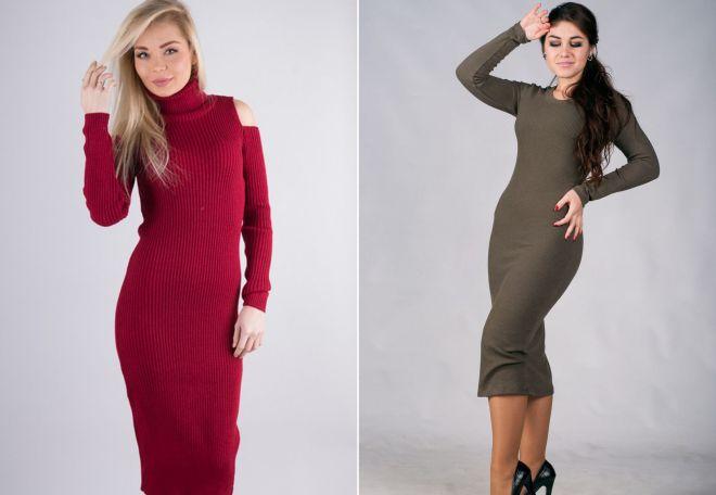 Модели платья-лапши фото