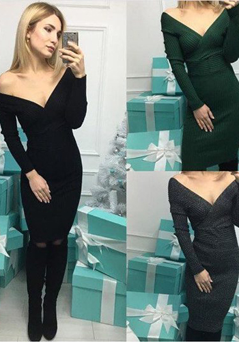 Платье лапша с открытыми плечами и вырезом фото