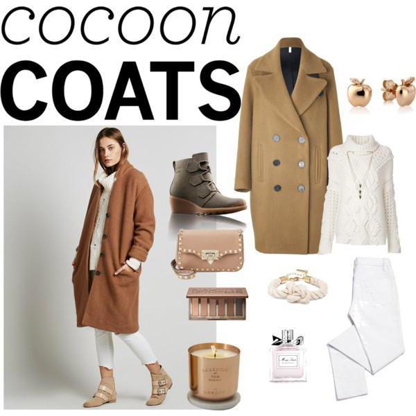 Одежда под пальто-кокон фото