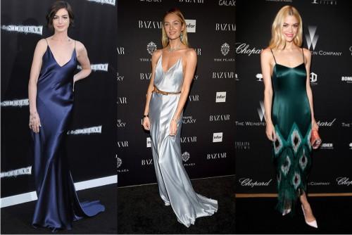 Трендовые платья комбинации фото