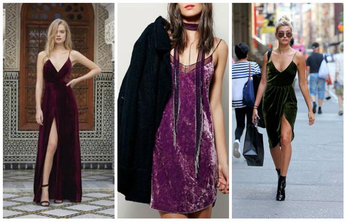 Современные платья комбинации фото