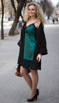 Платье комбинация до колена фото
