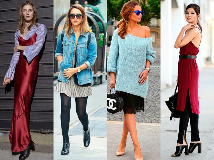 Разные платья бельевого стиля фото