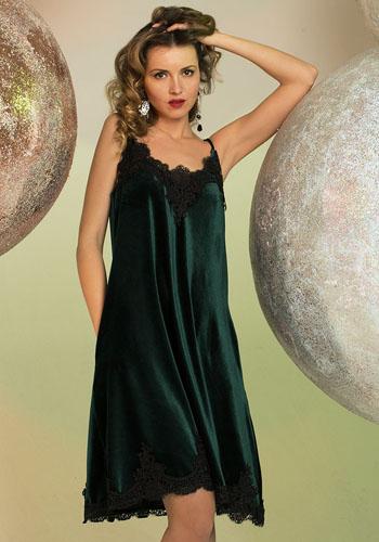 Тёмное платье-ночнушка фото