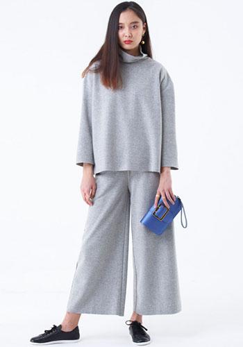 Серые брюки колюты фото