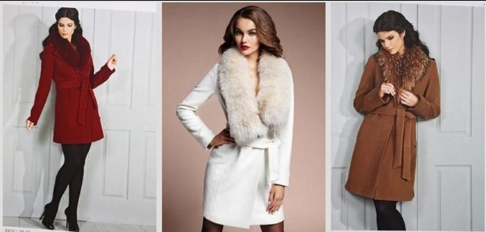 Классическое белое пальто фото