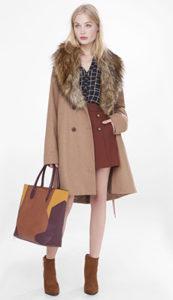 Сумка к зимнему пальто фото
