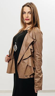 Кожаная куртка - косуха фото