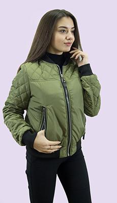 Куртка бомбер для женщин фото