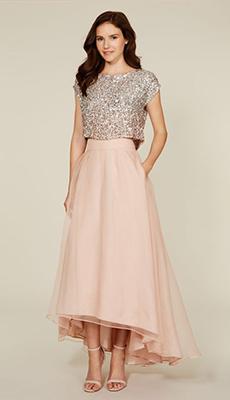 Платье с пайетками с пышной юбкой фото