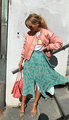 Бомбер под юбку фото