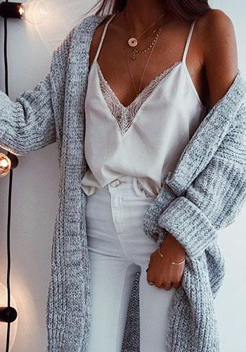 Топ в бельевом стиле зимой фото